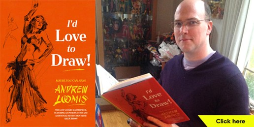 Alex Ross Helps Bring to Life Illustration Book by Andrew Loomis